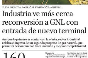Industria ve más cerca reconversión a GNL con entrada de nuevo terminal