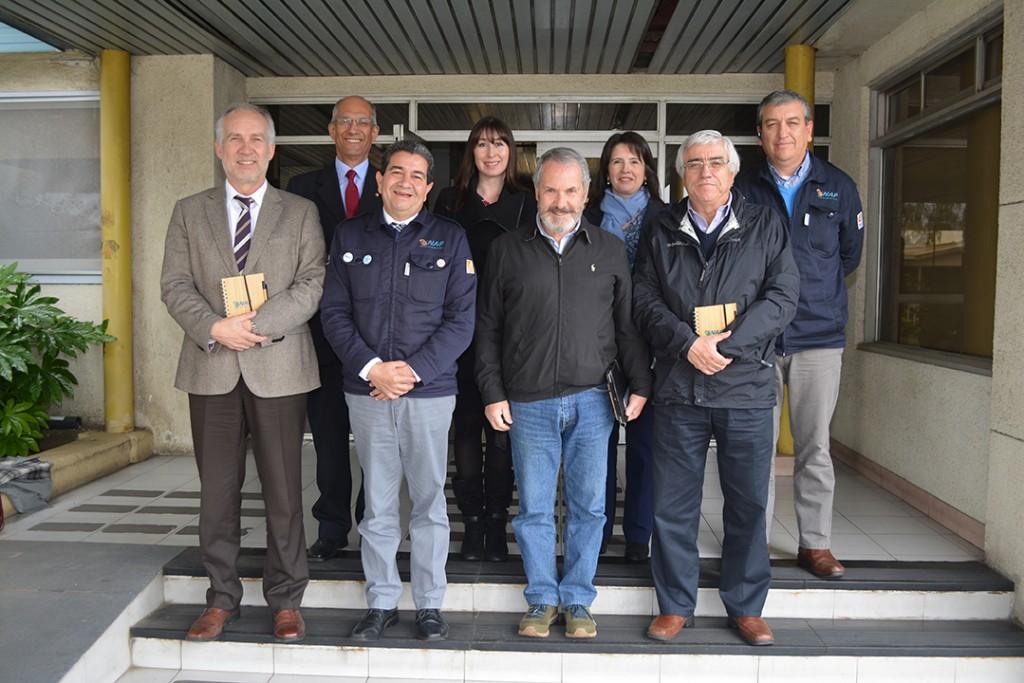 CPCC visita instalaciones de ENAP