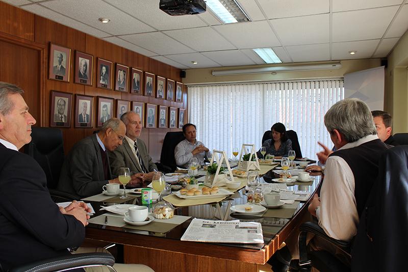CPCC se reúne con las principales empresas productivas de la zona en desayuno de socios