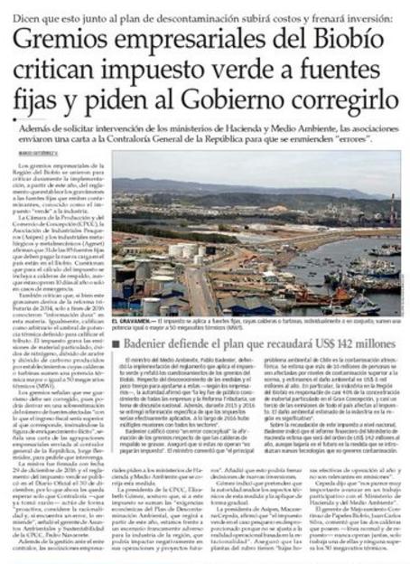 12.01.2017 Gremios empresariales_El Mercurio