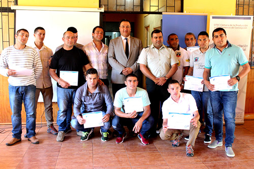OTEC de CPCC capacita a usuarios del Centro de Educación y Trabajo de Punta de Parra