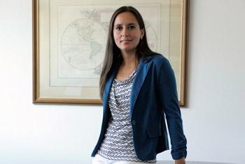Macarena Cepeda, presidenta de ASIPES