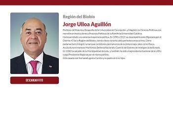 Jorge Ulloa es designado como nuevo intendente de la Región del Biobío