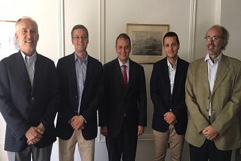 Directorio de CPCC se reunió con Intendente Díaz