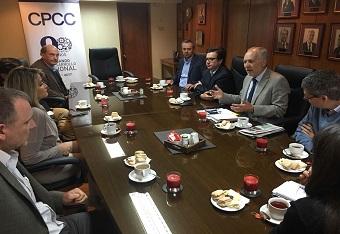 CPCC se reúne con sus asociados para analizar la contingencia regional
