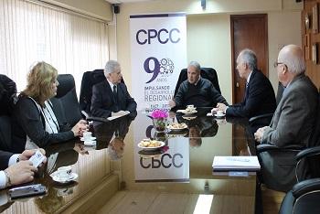 CPCC se reune con Honorable Cuerpo Consular de Concepción