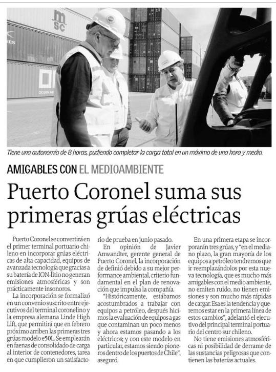 Puerto coronel 13 oct