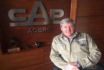Asume nuevo Gerente General de CAP Acero, Rodrigo Briceño