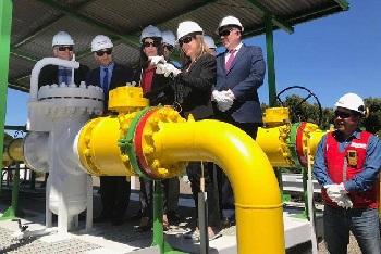 Vuelve suministro de gas argentino a Biobío y Ñuble tras diez años