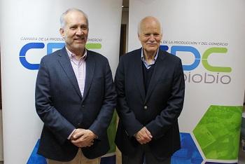 Director regional del INE realiza saludo protocolar a CPC Biobío