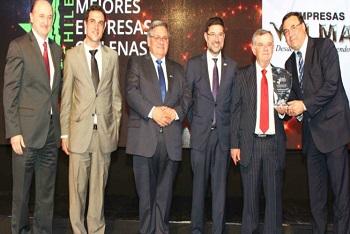 Premian a Valmar como una de las mejores empresas de Chile