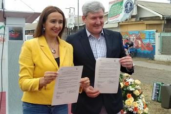 CAP y Municipalidad de Hualpén crearán parque que atravesará avenida Gran Bretaña